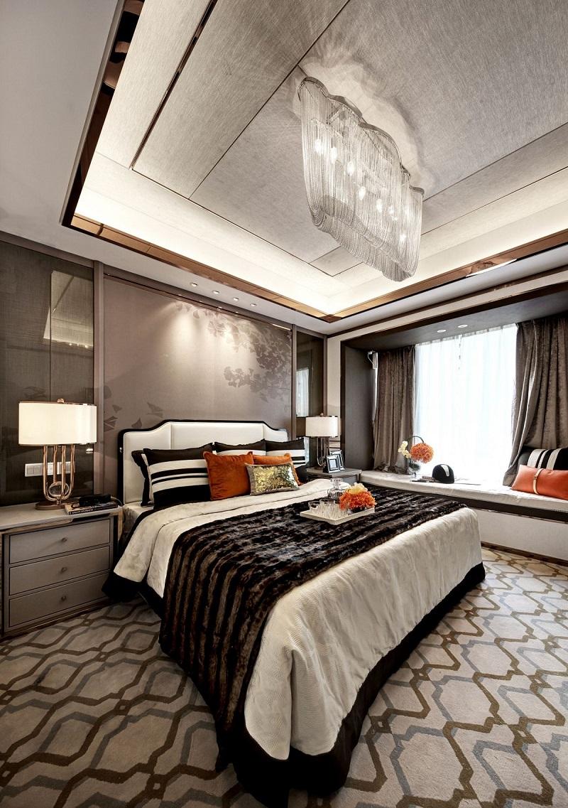 145平米卧室灯饰/照明设计