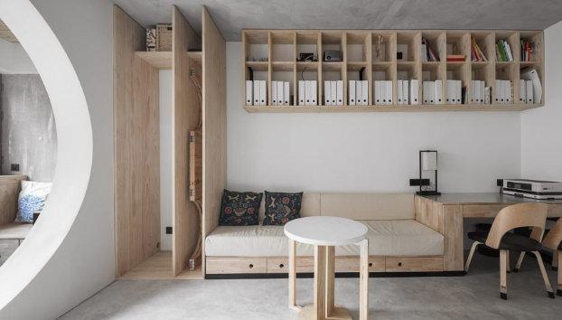 88平米工业风格室内设计