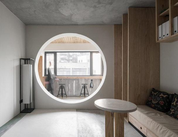 二居室客厅垭口装修设计