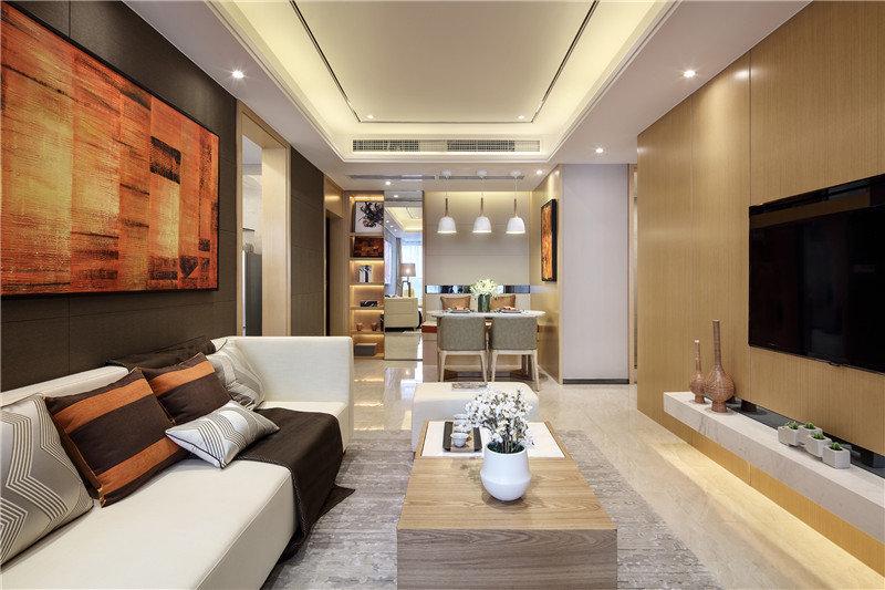四居室现代简约风格案例
