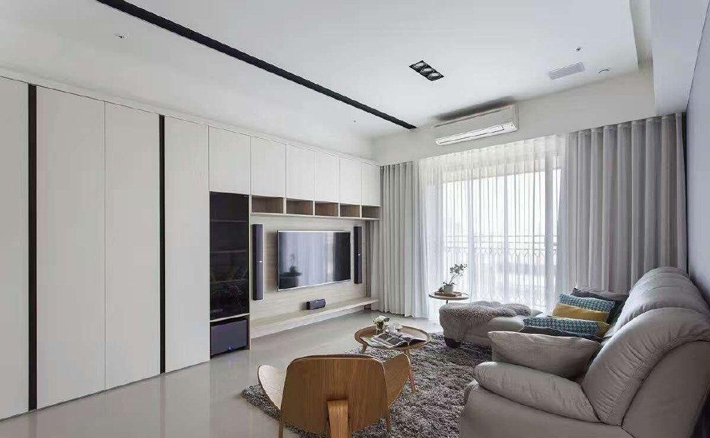 四居室现代简约风格效果图