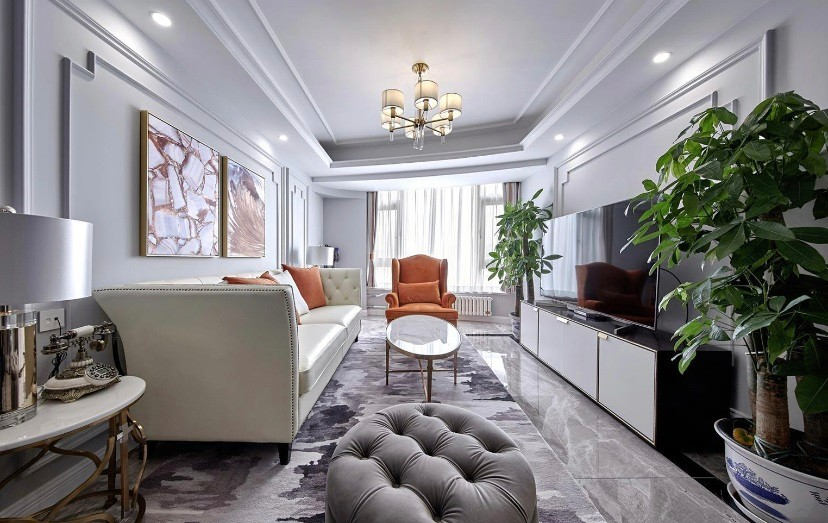 三居室130平米装修效果图