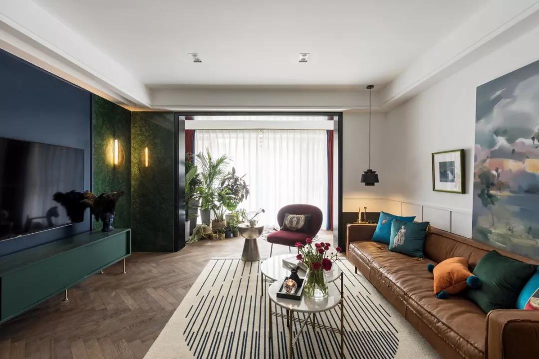 130平米后现代风格室内样板房