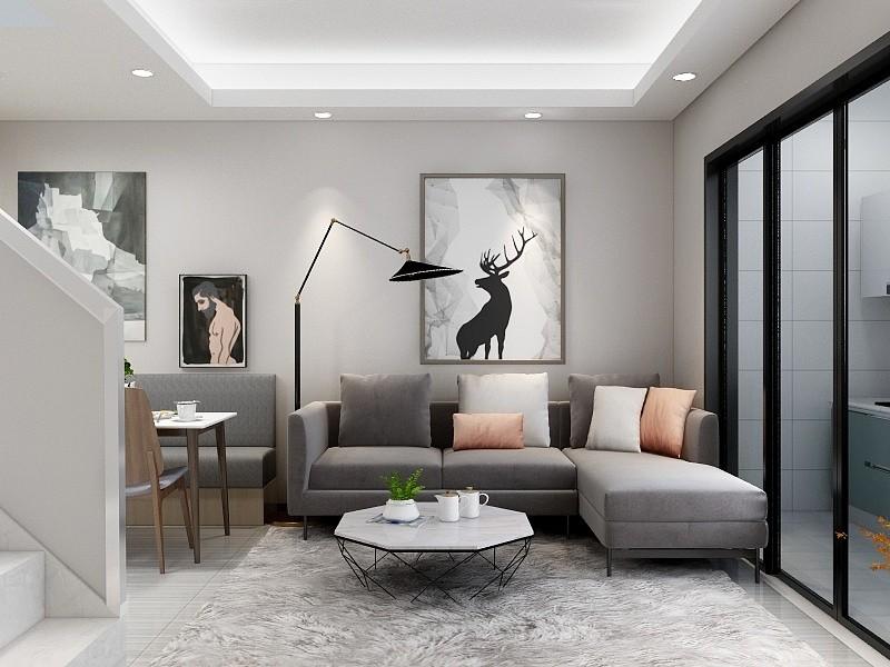 60平米北欧风格室内设计