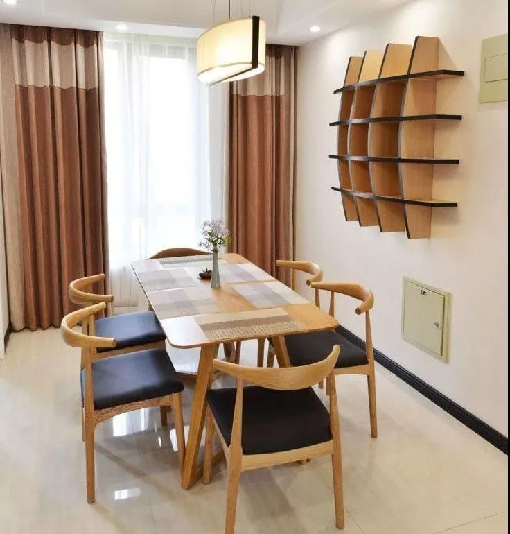 三居室餐厅创意收纳室内案例