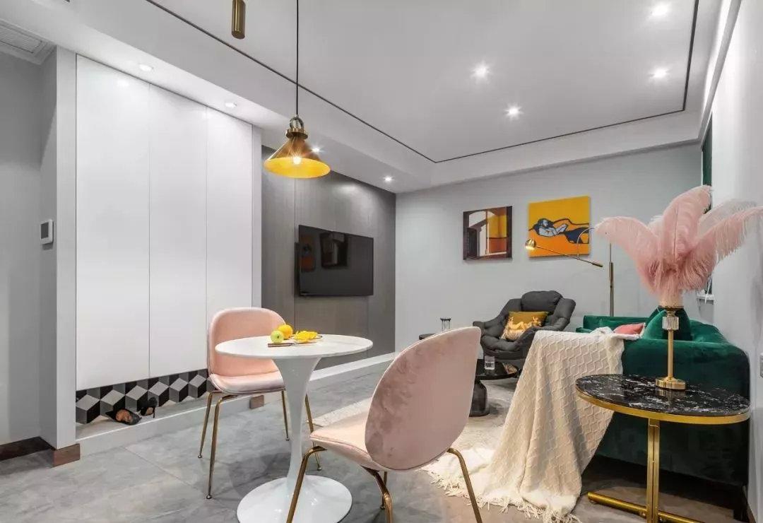二居室82平米室内设计图