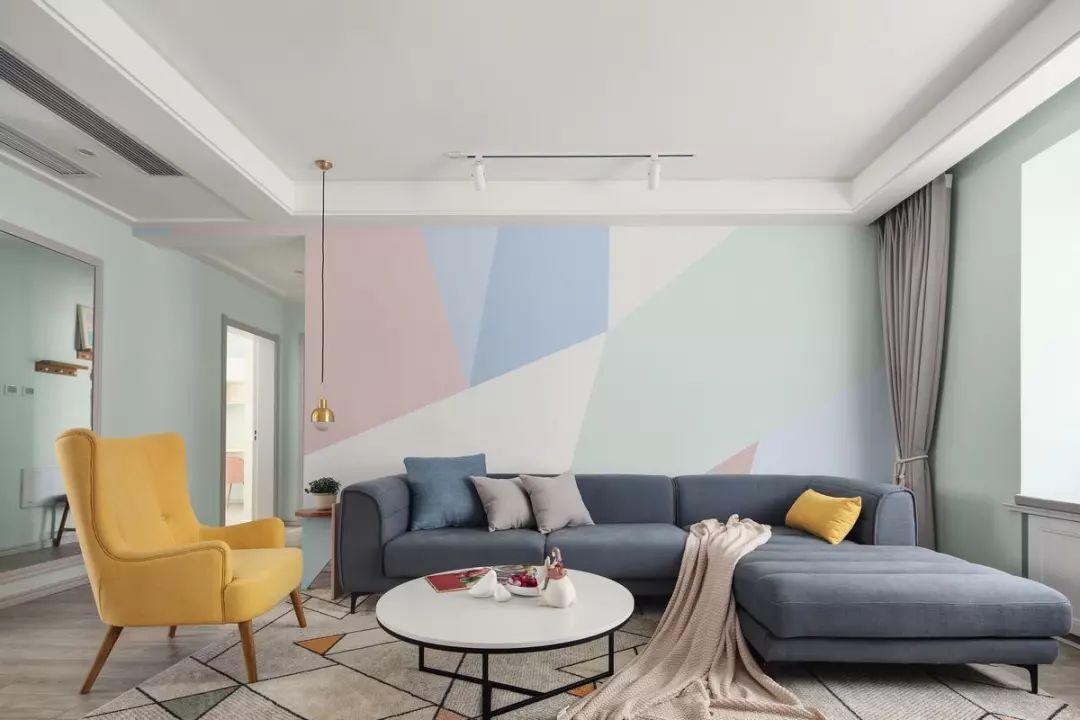 三居室北欧风格装修设计