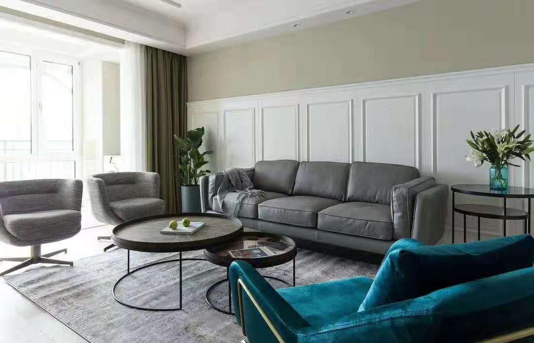 三居室103平米家装效果图