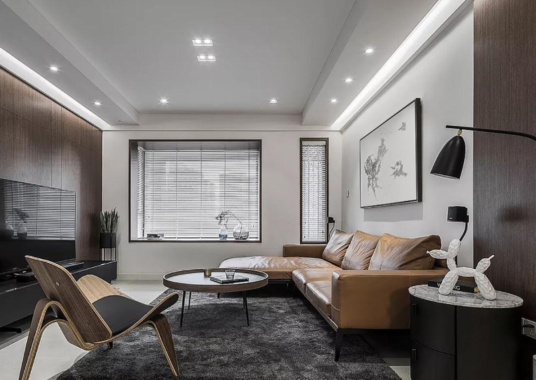 三居室106平米装修案例图