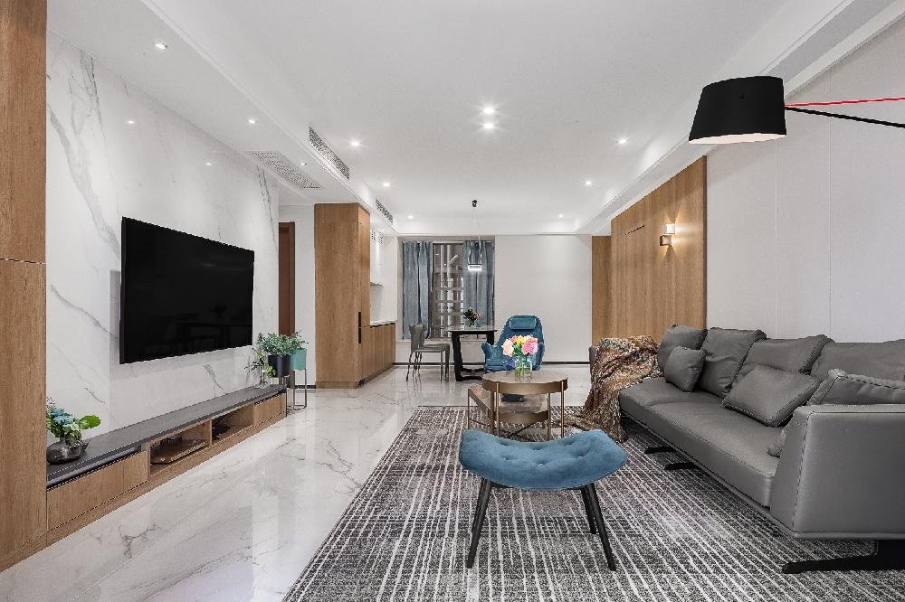 三居室130平米家装案例图