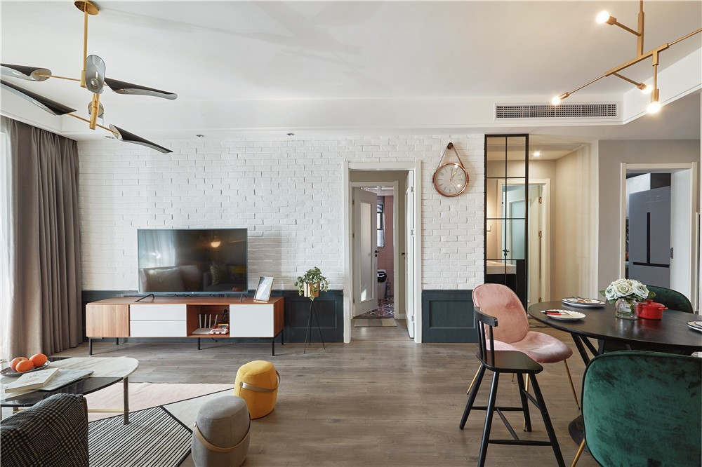 三居室98平米设计