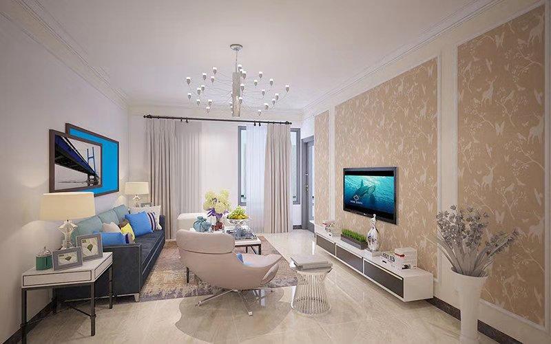 三居室116平米设计图