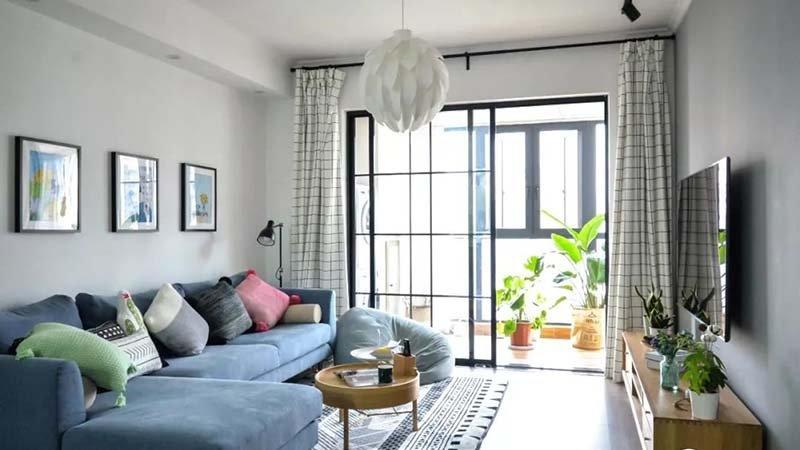 二居室94平米装修图片