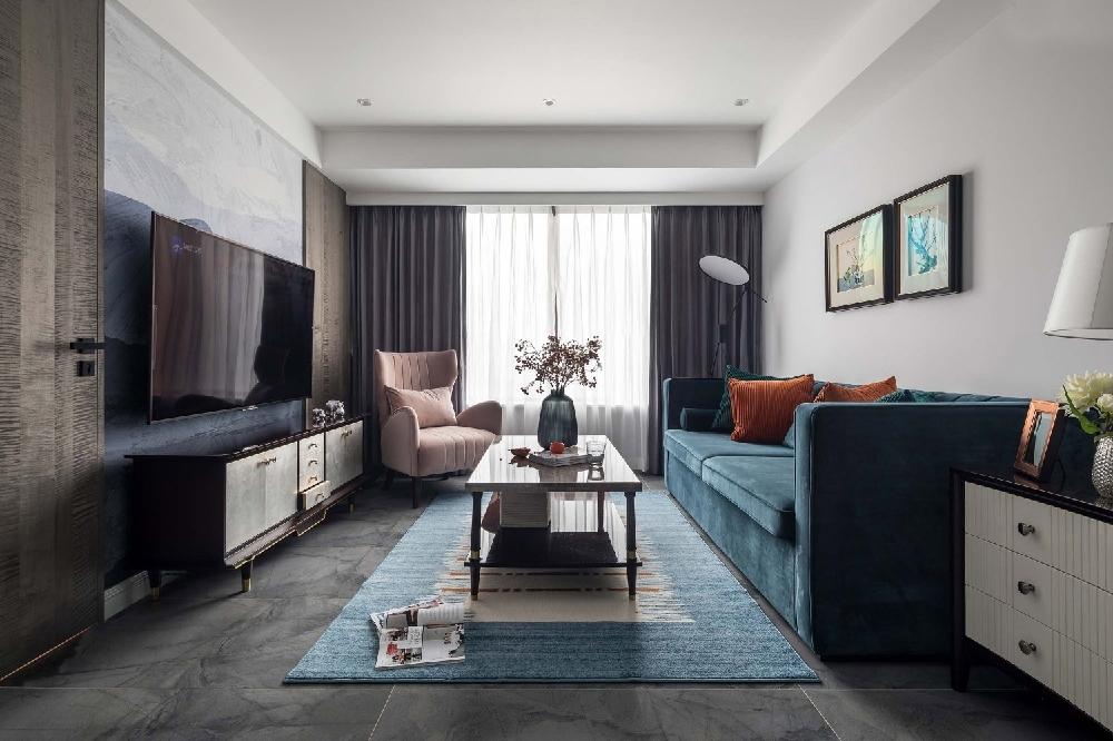 三居室109平米家装案例