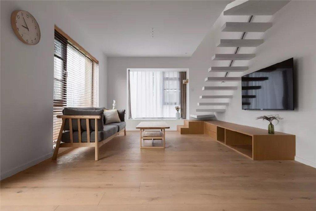 Loft现代简约风格装潢效果图