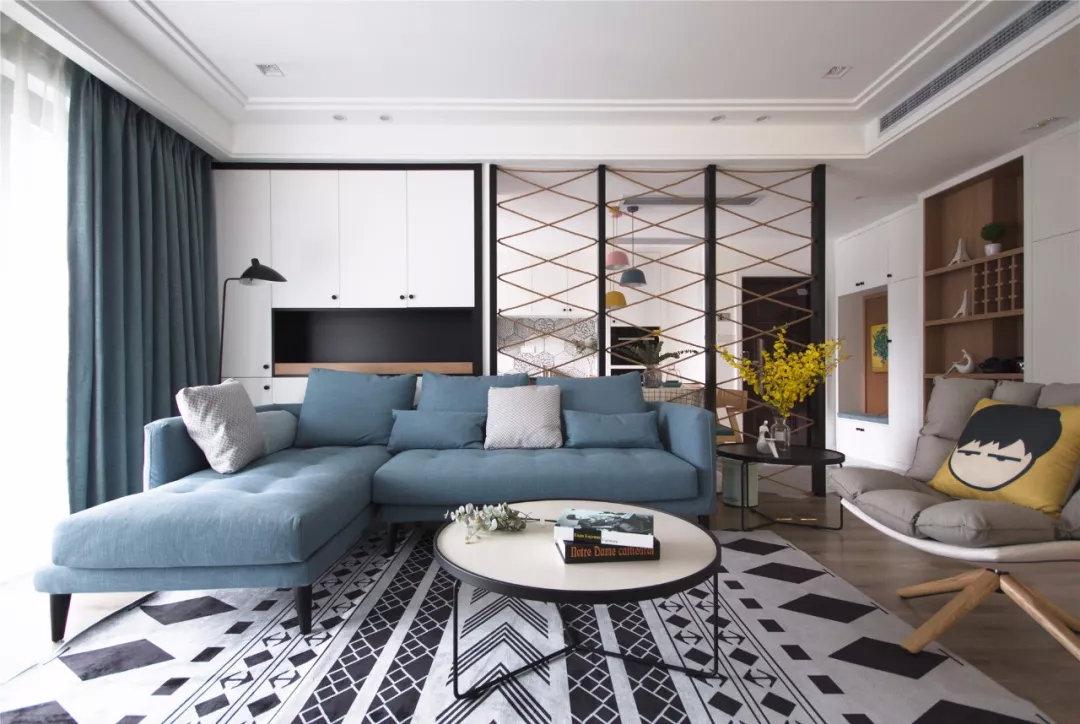 三居室108平米装修案例