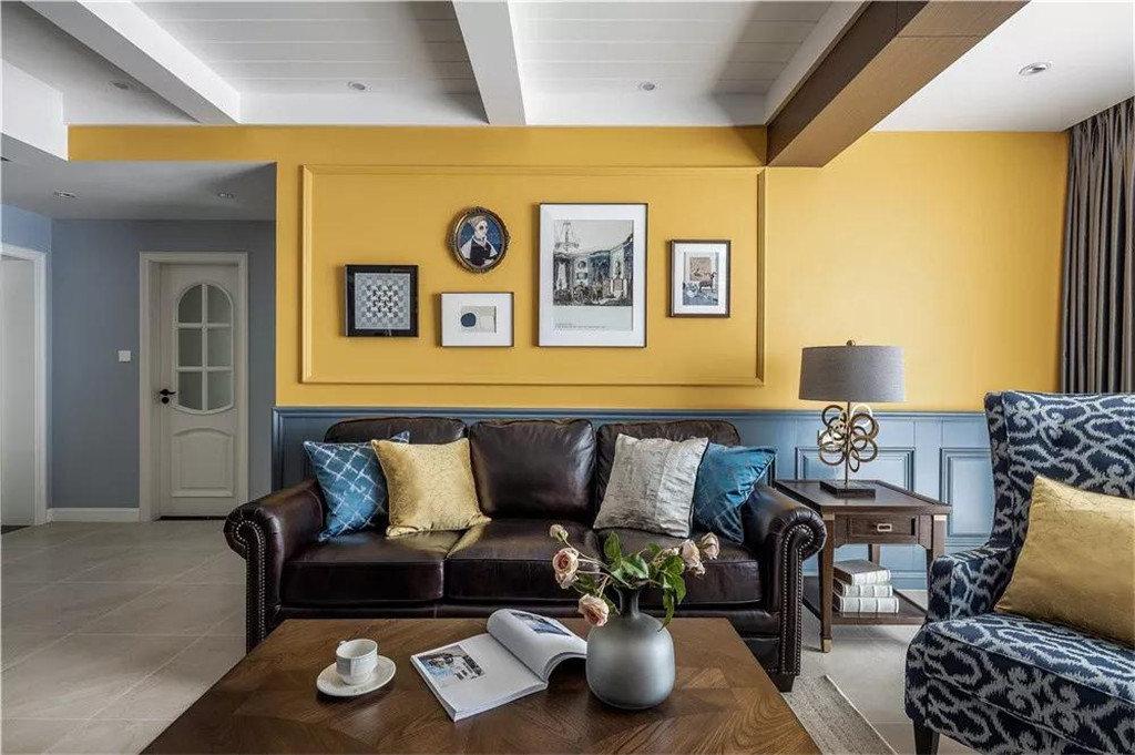 三居室美式风格装修图
