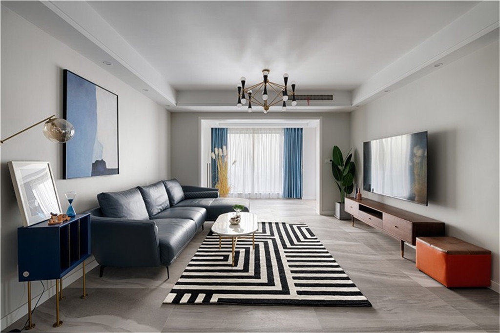 三居室100平米装修效果图