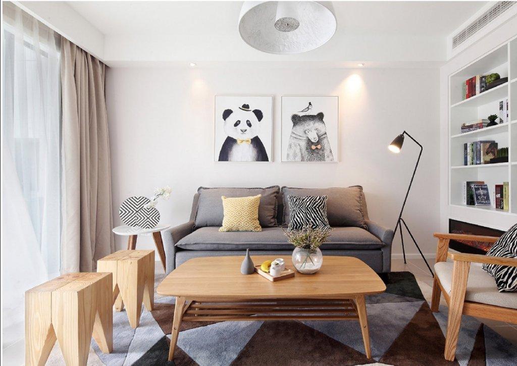 128平米现代简约风格室内设计