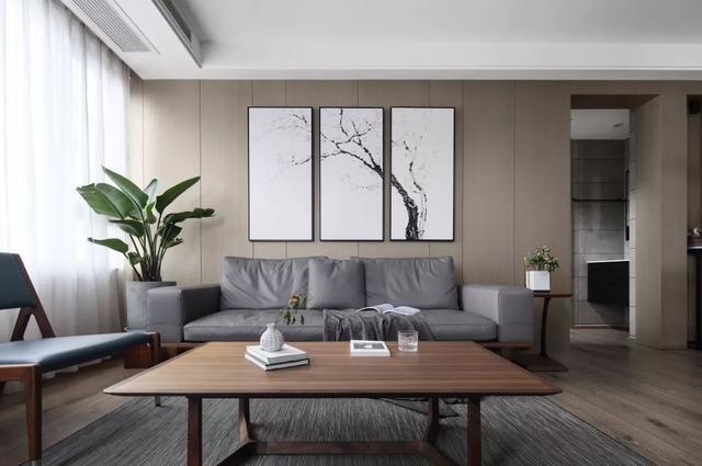 127平米新中式风格家装设计图