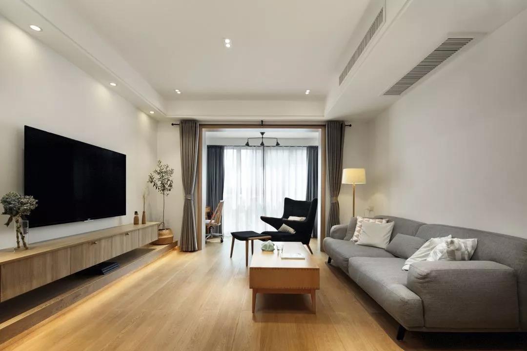 三居室现代简约风格装修样板房