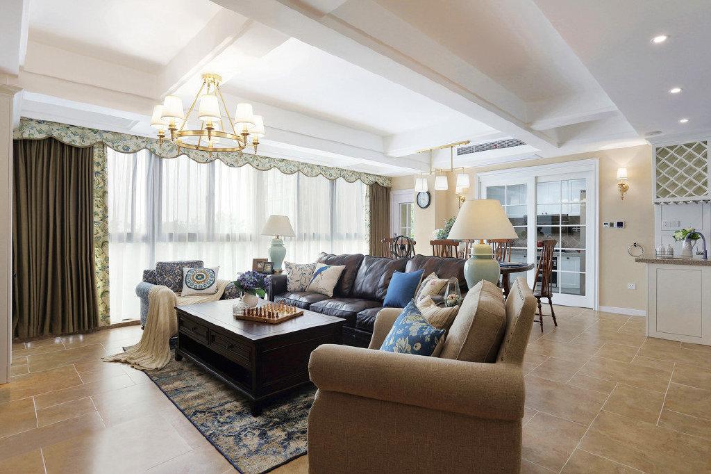 165平米美式风格室内设计