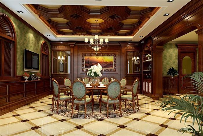 别墅新古典风格装修设计