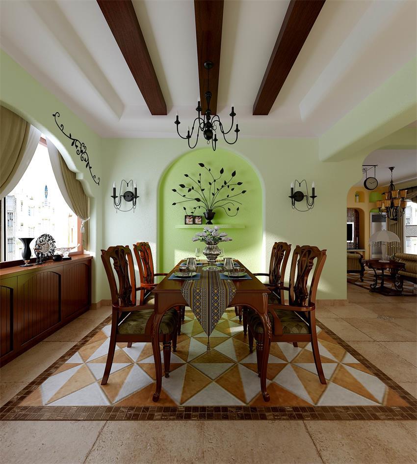四居室130平米室内设计