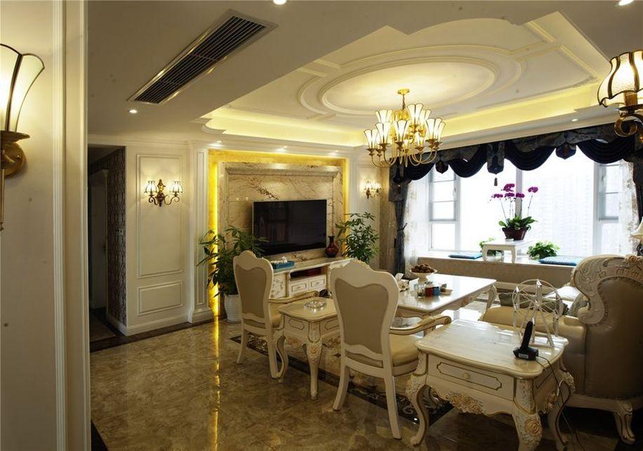 三居室欧式风格案例