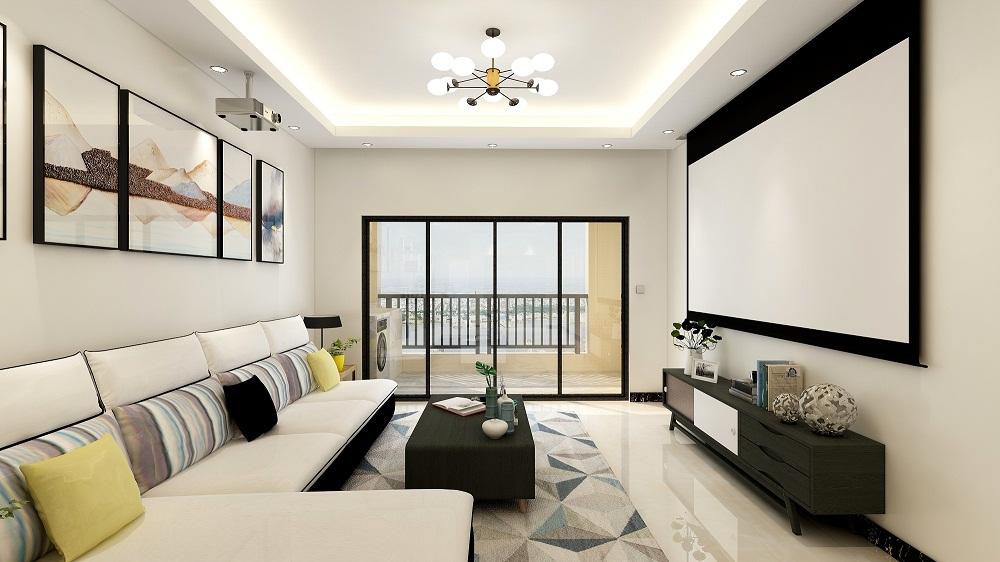 三居室90平米装修效果图