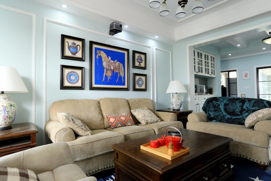 三居室103平米室内设计