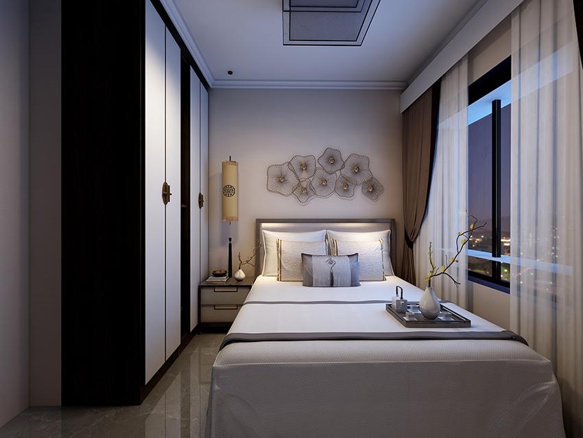 三居室新中式风格装修实景图