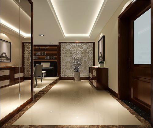 130平米中式风格家装设计