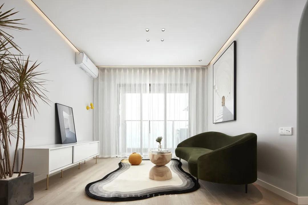 98平米现代简约风格设计