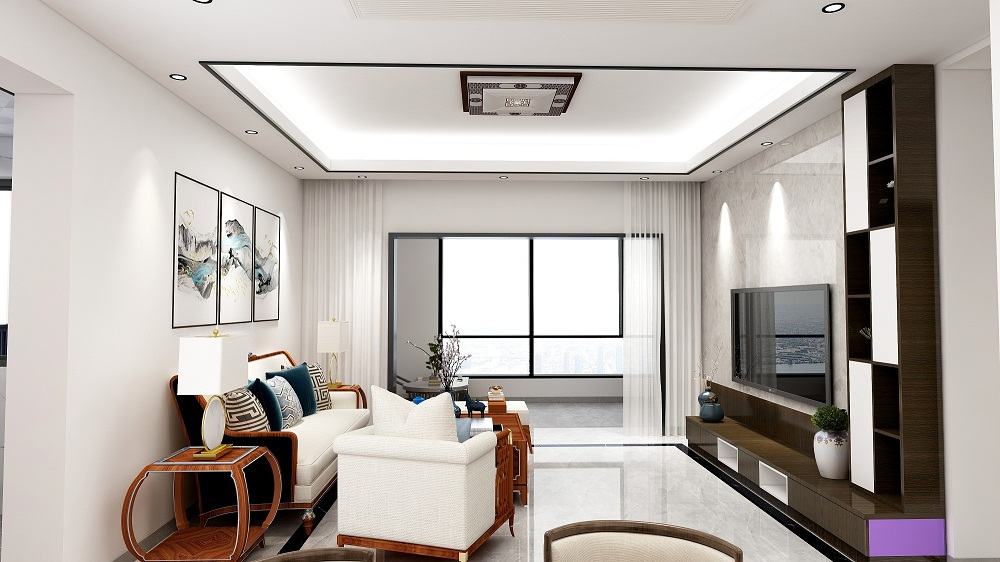 四居室中式风格家装图