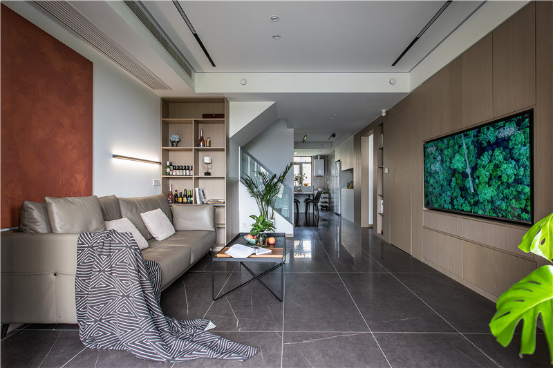 170平米现代简约风格装饰设计
