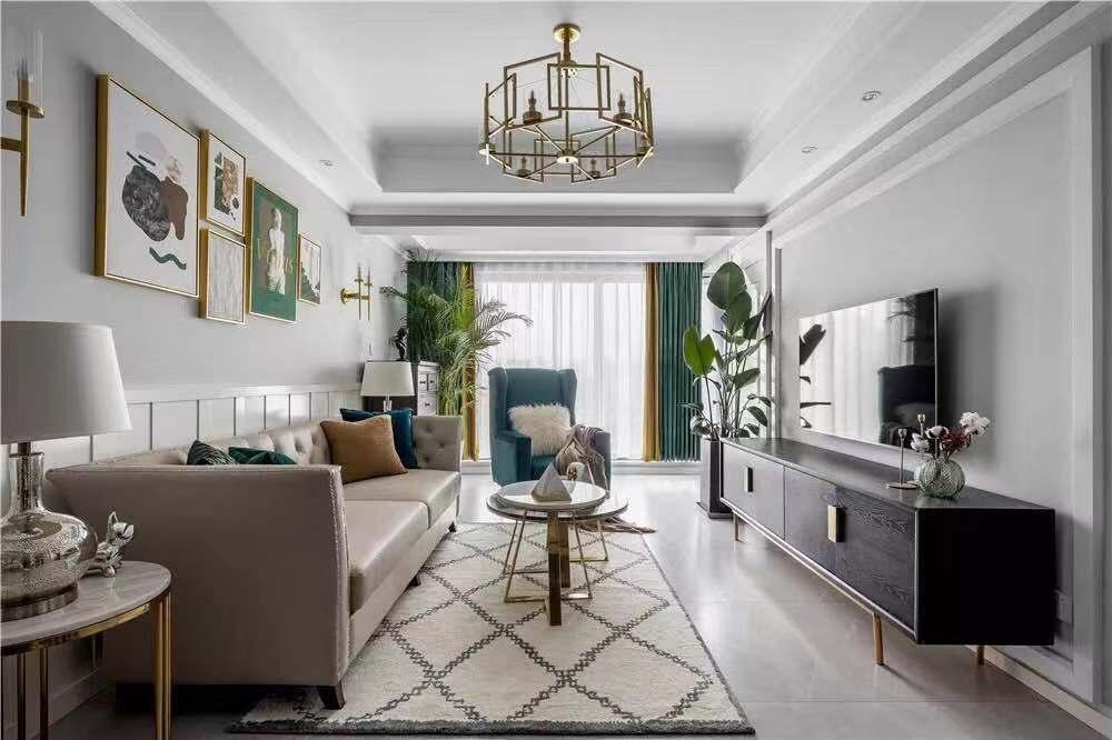 四居室美式风格图片
