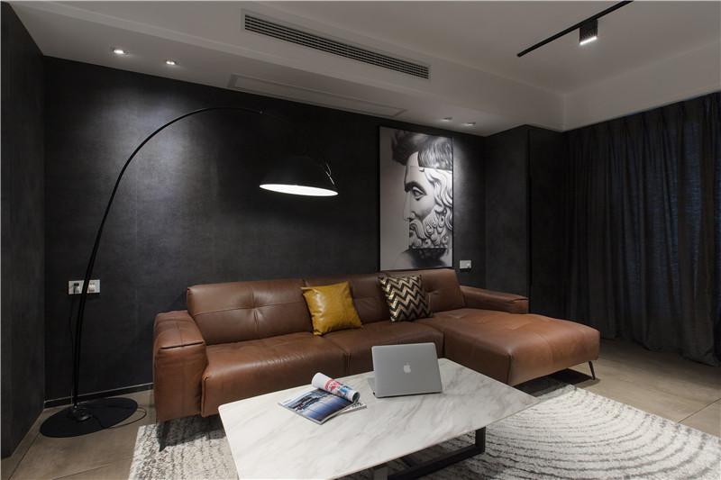 三居室现代简约风格家装设计