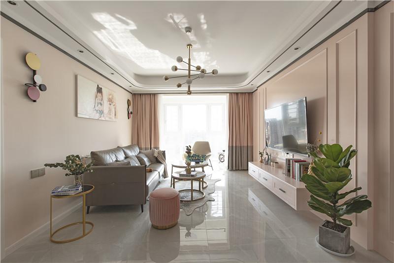 三居室现代简约风格图片