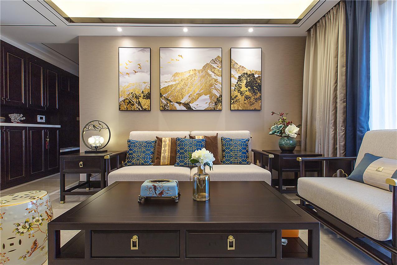 四居室现代简约风格室内效果图