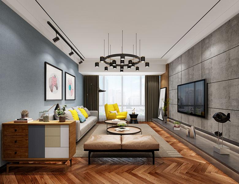 四居室150平米装修案例