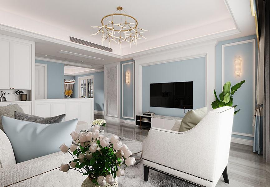 三居室144平米装修图片