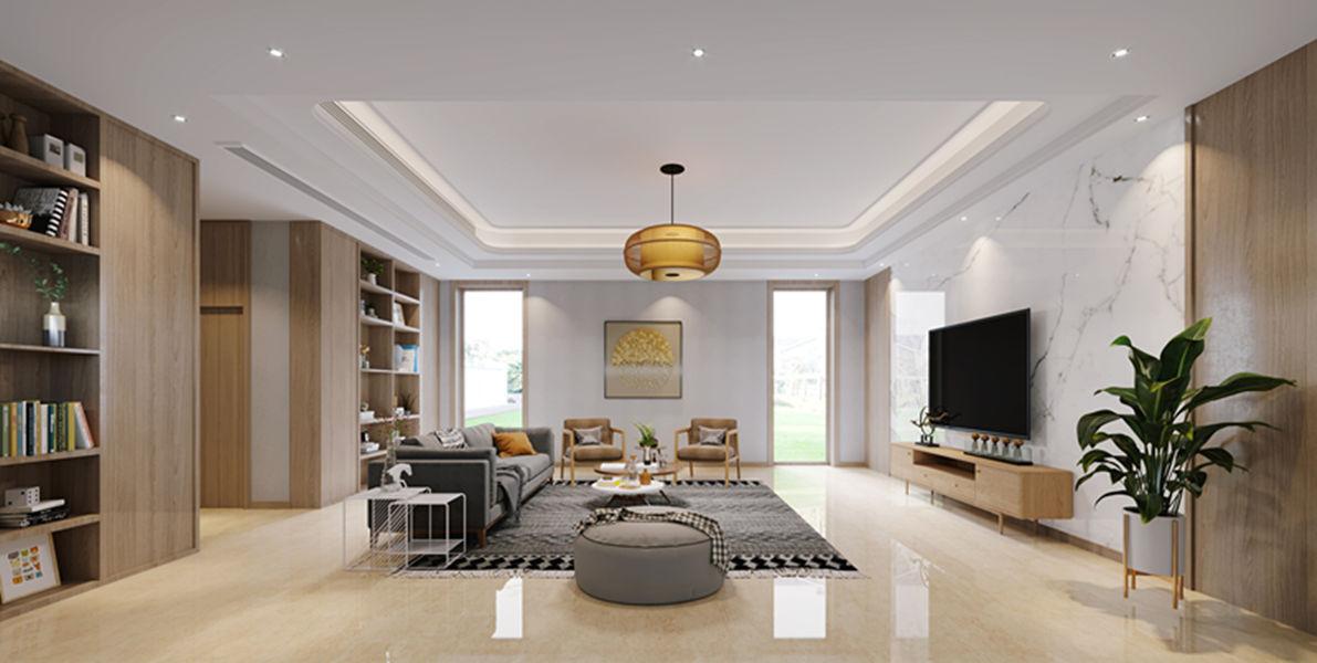 别墅现代简约风格家装案例
