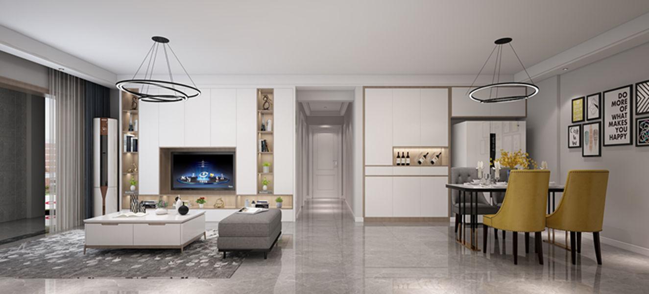 三居室116平米设计