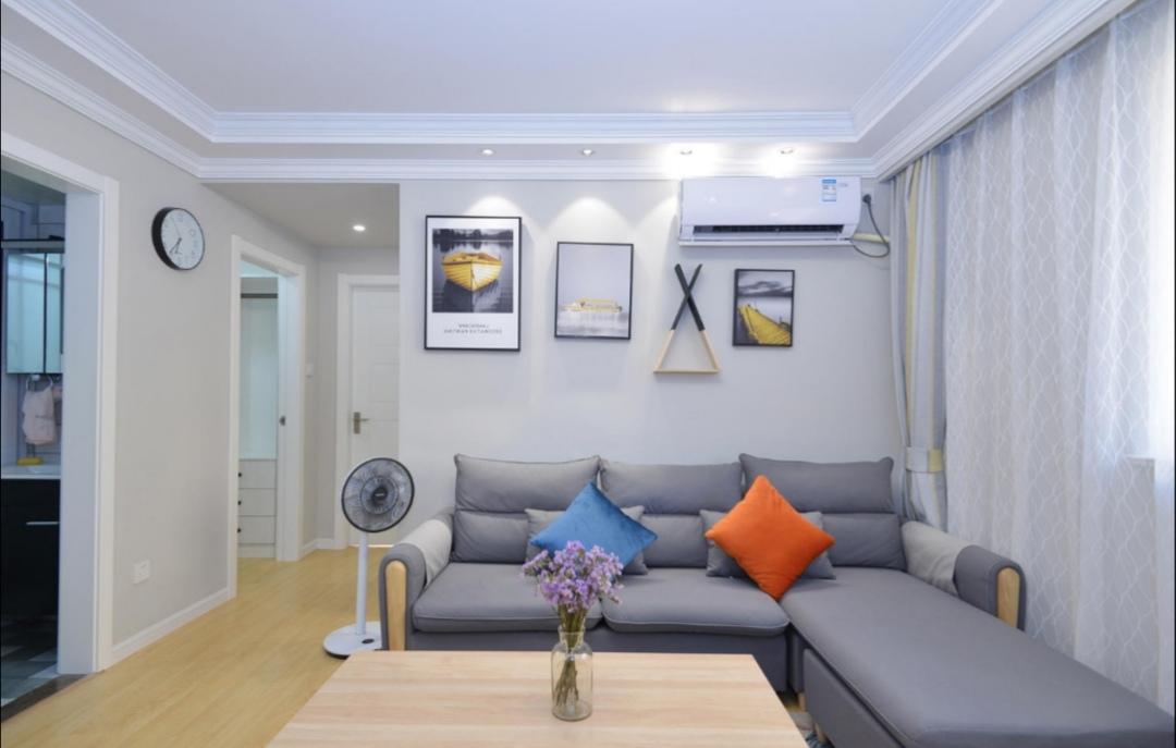 三居室北欧风格家装样板房