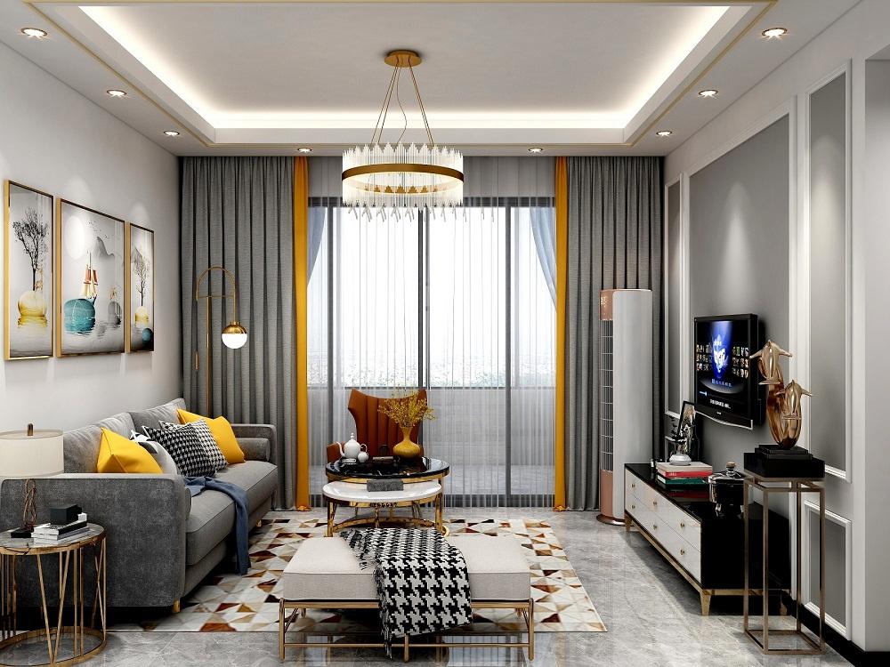 四居室现代简约风格室内设计