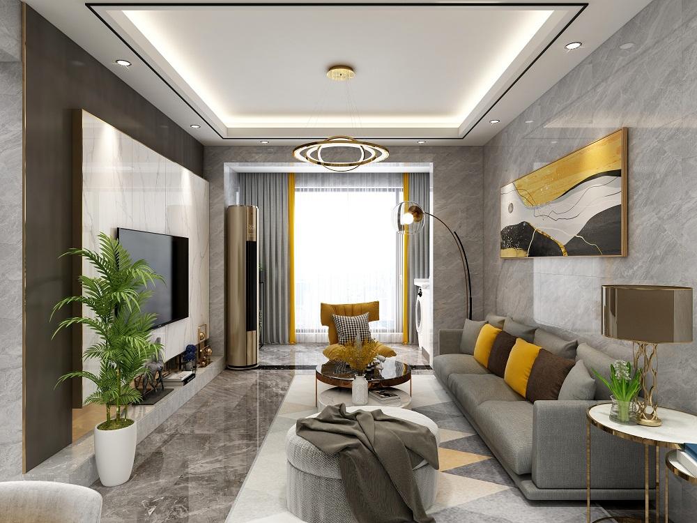三居室112平米装修实景图
