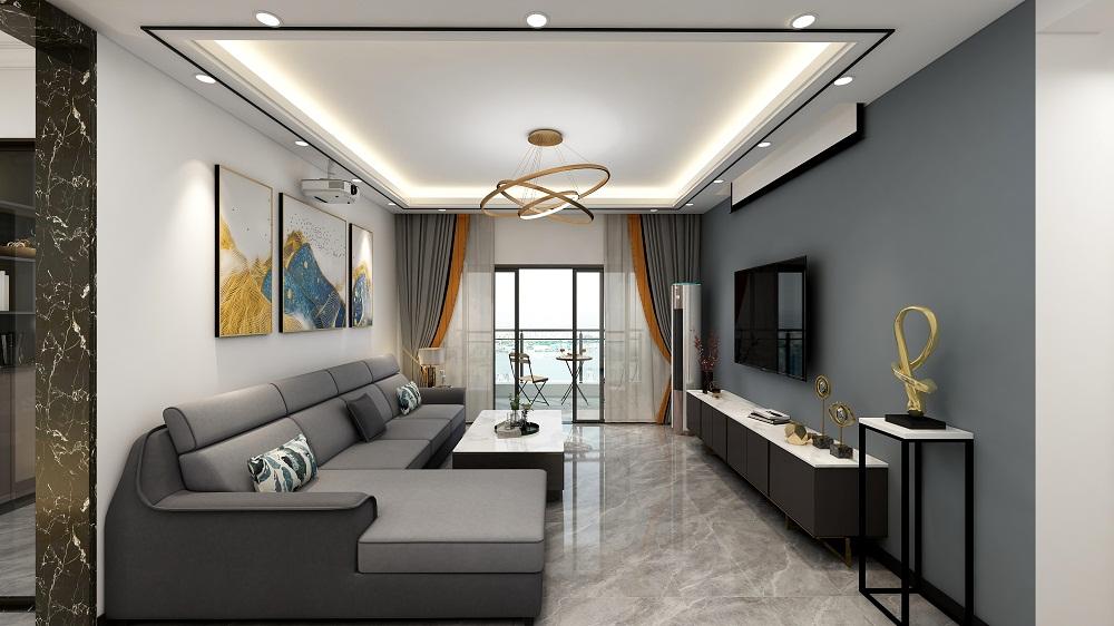 四居室129平米装潢效果图
