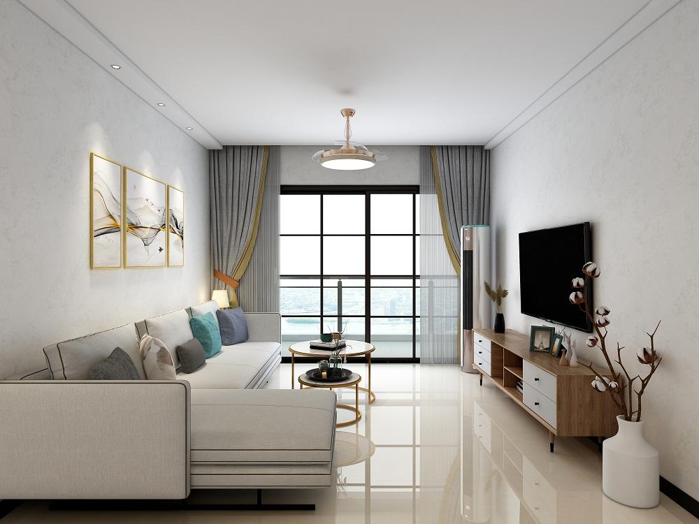 三居室110平米装修实例