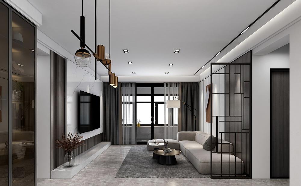 四居室现代简约风格设计